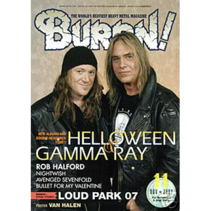 WANTED: Burrn! – Japan Magazine – Nr11 – 2007.