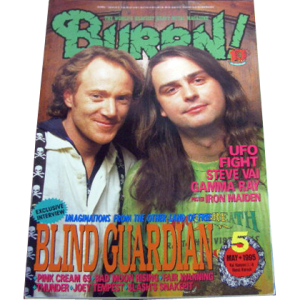 WANTED: Burrn! – Japan Magazine – Nr5 – 1995.