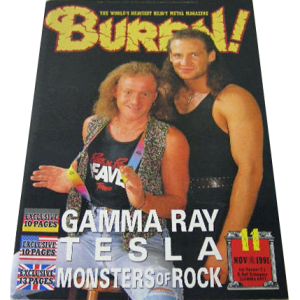 WANTED: Burrn! – Japan Magazine – Nr11 -91.