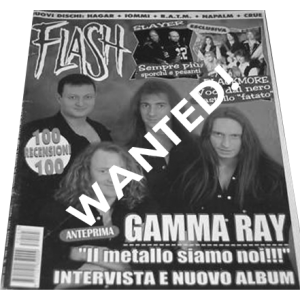 WANTED: Flash Magazine – Nr103 – 1997 – Italy.