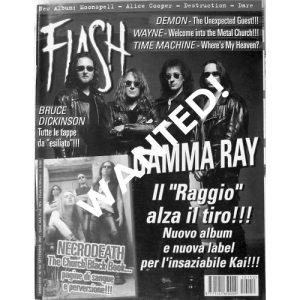 WANTED: Flash Magazine – Nr152 – Sep 2001 – Italy.