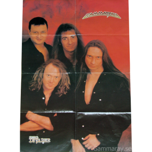 Poster From The Greek Magazine Metal Invader – 1996.