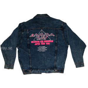 Headache For Tomorrow Japan Tour 1990 – Jeans Jacket.