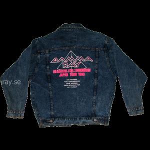 Headache For Tomorrow Japan Tour 1990 – Jeans Jacket.