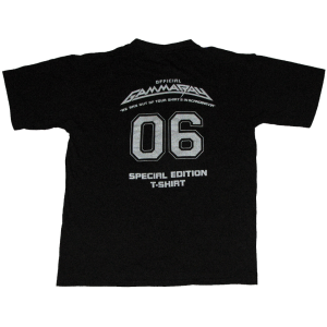 Special Edition – Scandinavia 2006 Tour T-shirt.