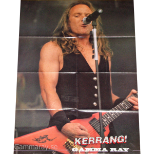 Big Poster From Kerrang – 2000.