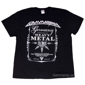 Germany Premium Quality Heavy Metal – T-shirt.