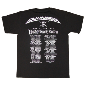 Germany Premium Quality Heavy Metal – Hellish Tour 2013 T-Shirt.