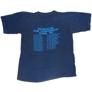 T-shirt – Headache For Tomorrow – Tour 1990.