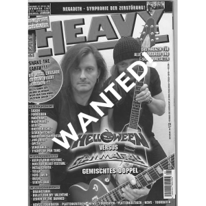WANTED: Heavy Magazine – Nr107 – 2008.