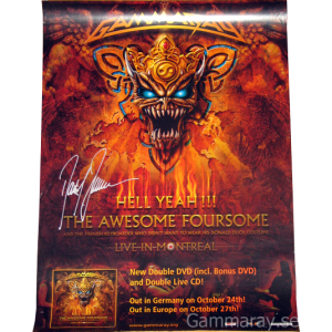 2008 – Hell Yeah!!! The Awesome Foursome – Posters.
