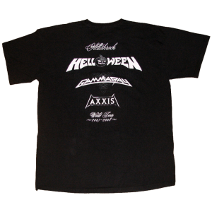 Hellish Rock Tour 2007/2008 – T-shirt.