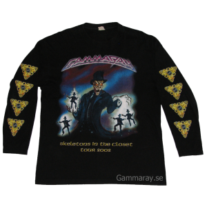 Skeletons In The Closet – Long Sleeve – Tour 2002.
