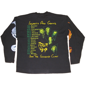 Long Sleeve – Insanity And Genius – Tour 1994.