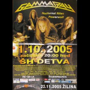 2005 – Majestic Tour – Slovakia – Poster.