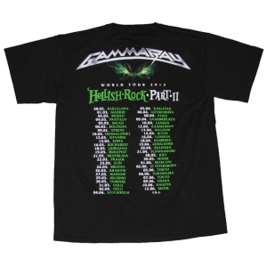 Hellish Tour 2013 – Master Of Confusion – T-shirt.