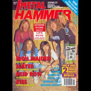 Metal Hammer Magazine – Nov – 1991.