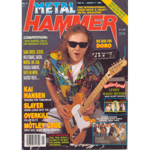 Metal Hammer Magazine – Nr5 – 1990 – Eng.