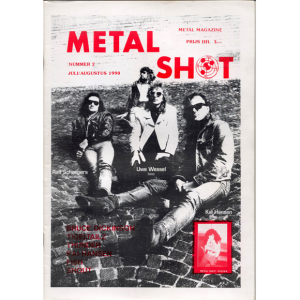 Metal Shot Magazine – Nr2 – 1990.
