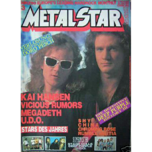 WANTED: MetalStar Magazine – 1989.