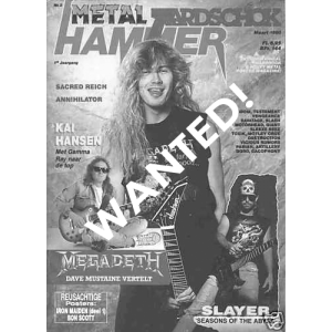 WANTED: Metal Hammer Magazine – Nr3 – 1990.