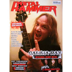 WANTED: Metal Hammer Magazine – 2010.