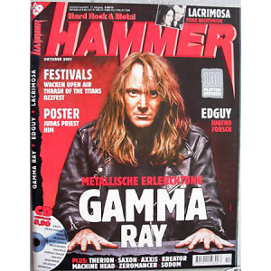 WANTED: Metal Hammer Magazine – Nr10 – 2001.