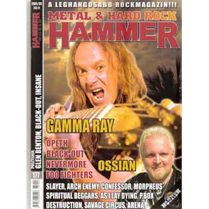 WANTED: Metal Hammer Magazine – Nr9 – 2005.