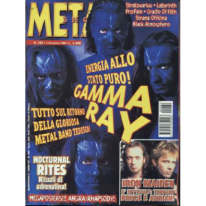 WANTED: Metal Shock Magazine – Nr282 – 1999.