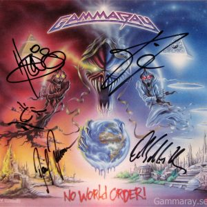 2001 – No World Order –  Lp Size Poster.