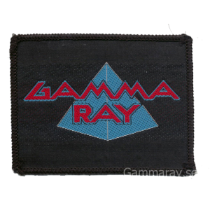 Gamma Ray – Old Logo Patch.