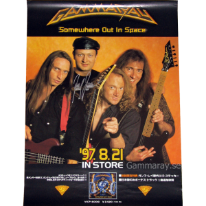 1997 – Somewhere Out In Space – Japan Promo Poster.