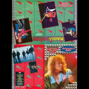Kai Hansen Poster – Metal  Magazine -93.