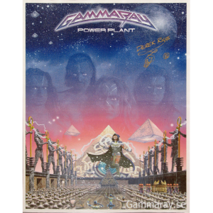 1999 – PowerPlant Canvas/Vinyl Promo Poster.