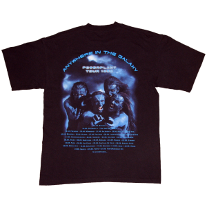 PowerPlant – Fangface Tour 1999 – T-shirt.