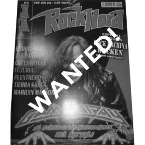 WANTED: Rock Hard Magazine – Nr8 – 2001 – Spanish.