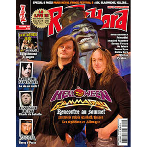 WANTED: Rock Hard Magazine- nr72 – 2007 – France.