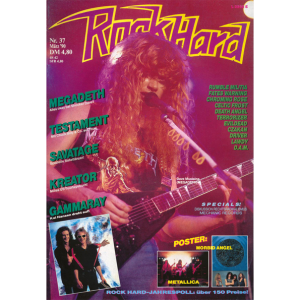 Rock Hard Magazine – Nr37 – 1990.