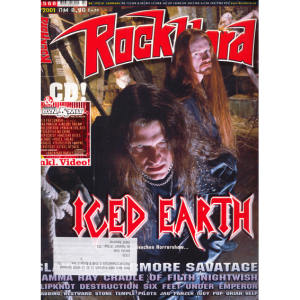 Rock Hard Magazine – Nr170 – 2001