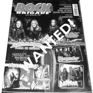 WANTED: Rock Brigade Magazine – Nr184.