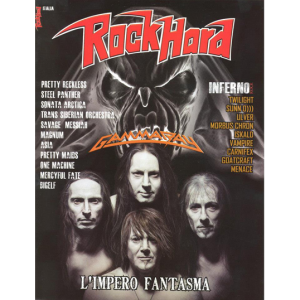 WANTED: Rock Hard Magazine – Italy 2014.