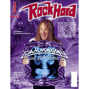 WANTED: Rock Hard Magazine – Nr3 – 2001 – French.