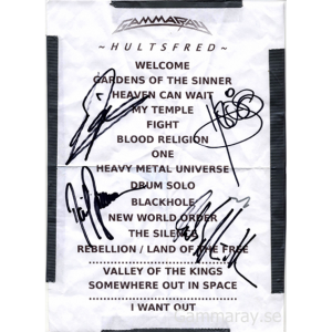 Setlist – Hultsfred, Sweden – 2006-01-20.