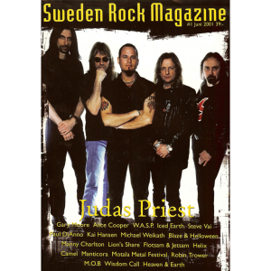 Sweden Rock Magazine – Nr1 – 2001.