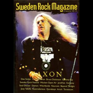 Sweden Rock Magazine – Nr2 – 2001.
