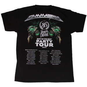 25 Years in Metal – Best Of The Best Party Tour 2015 – T-shirt.