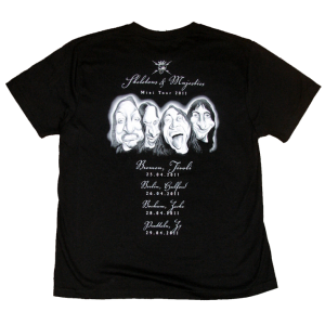 Skeletons & Majesties Mini Tour T-shirt – 2011.