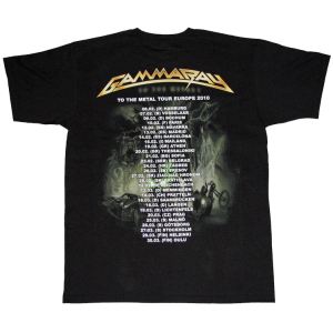 To The Metal – Tour Europe 2010 – T-shirt.