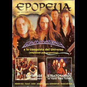 Epopeya – Argentina Magazine – Nr3 – June 1997.