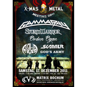 WANTED: 2011 – X-mas Metal Meeting 2011 Poster.